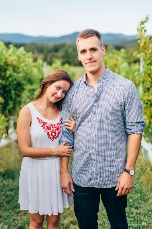Charlottesville Virginia Engagement, Virginia Engagement, University of Virginia Engagement, Stinson Winery Engagement