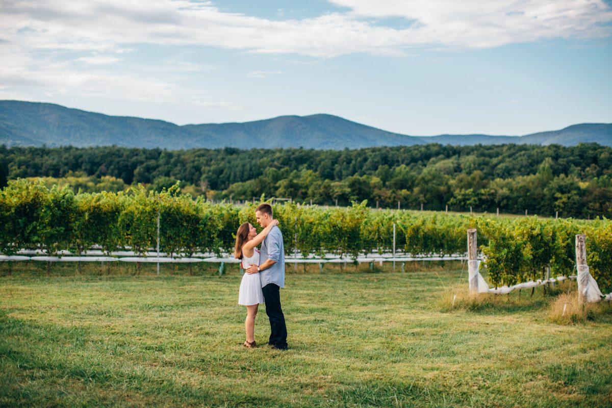 Charlottesville Virginia Engagement, Virginia Engagement, University of Virginia Engagement, Stinson Winery Engagement
