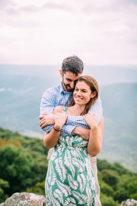 Virginia Engagement, Blue Ridge Parkway Engagement, Ravens Roost Overlook Engagement, Virginia Wedding Photographer