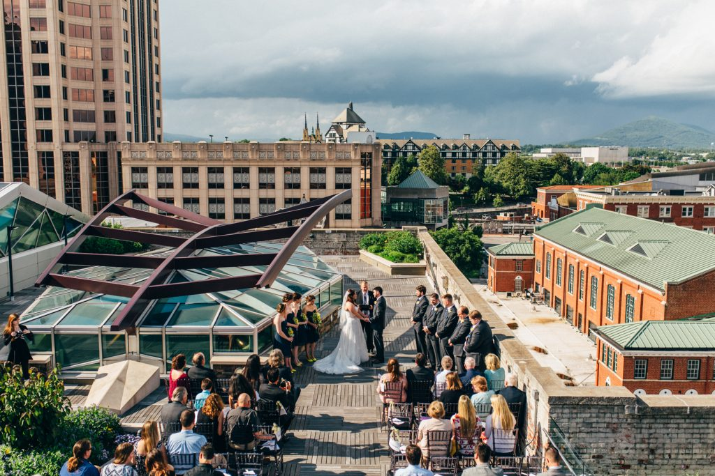Center in the Square wedding, Roanoke Virginia wedding