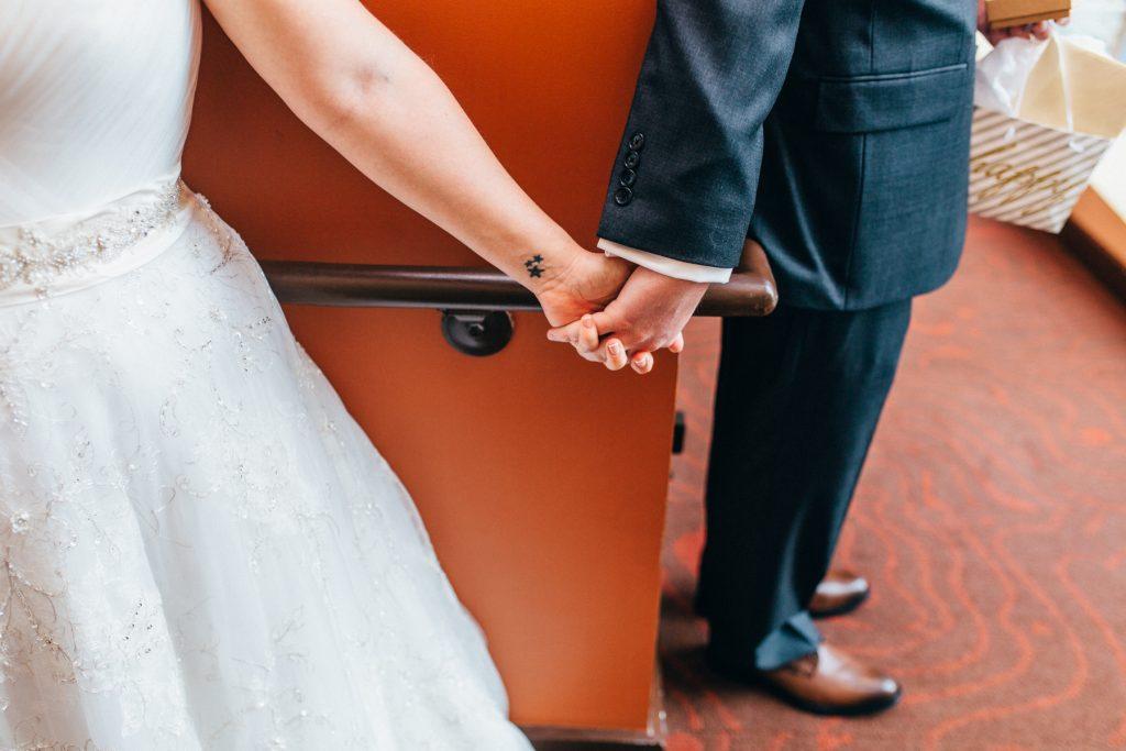 Center in the Square wedding, Roanoke Virginia wedding