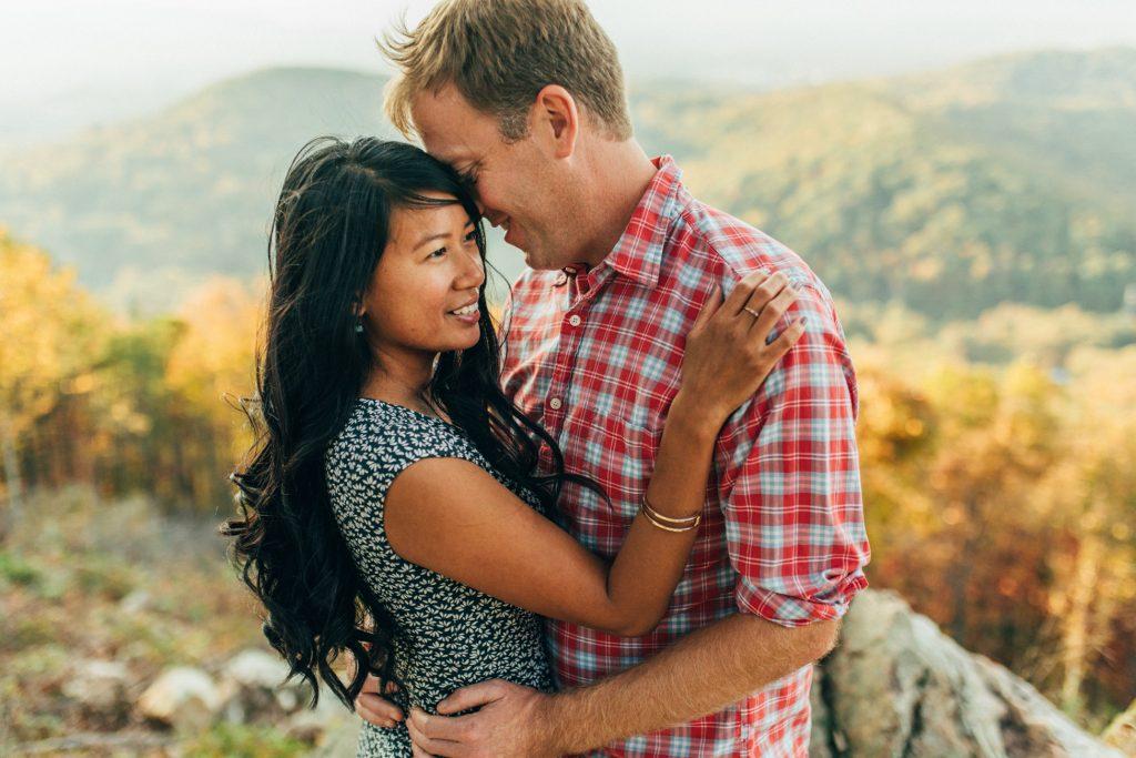 roanoke mountain engagement, downtown roanoke engagement, virginia wedding photographer