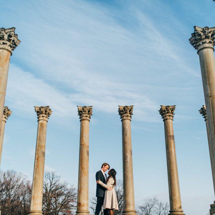 National Arboretum Engagement | Washington DC | Shannon + Eric