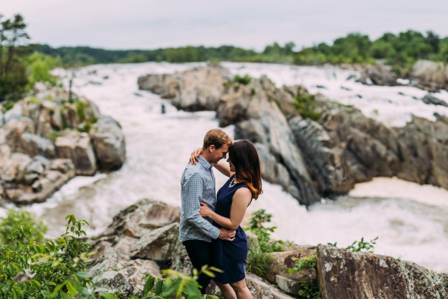 Great Falls Engagement | McLean, Virginia | Haley + Matt