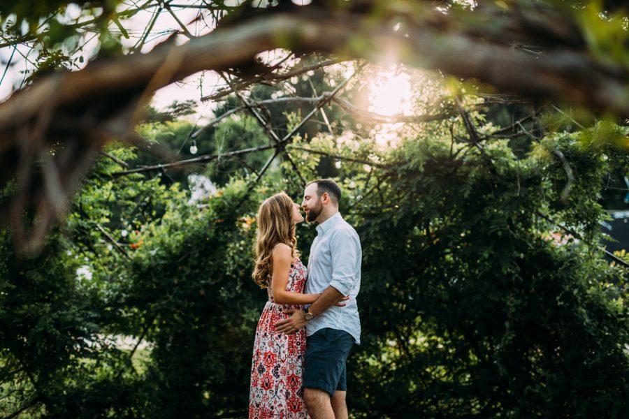 IX Art Park Engagement | Charlottesville, Virginia | Amy + Dave