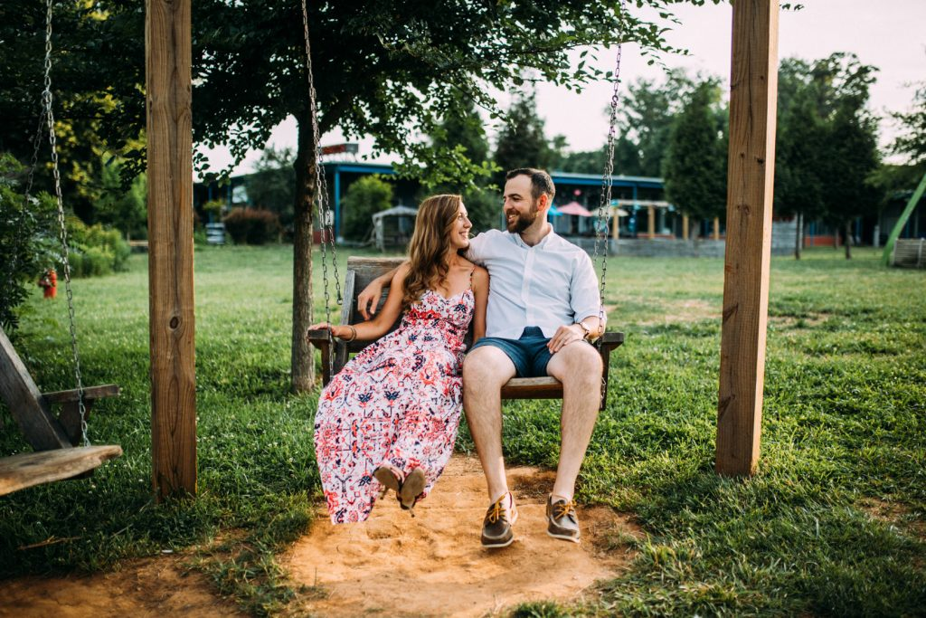IX Art Park Engagement, Virginia Wedding Photographer
