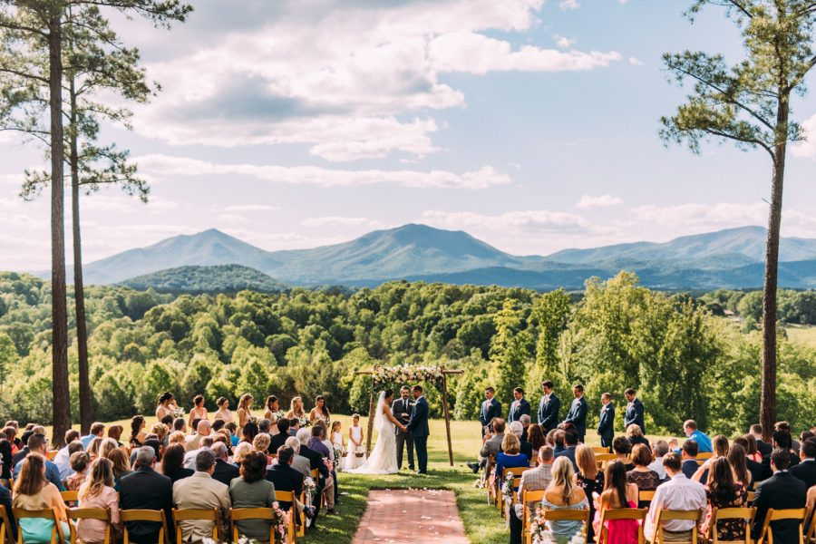 Sierra Vista Wedding | Bedford, Virginia | Meredith + Zack