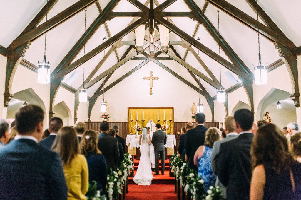 Chapel of the Immaculate Conception Wedding