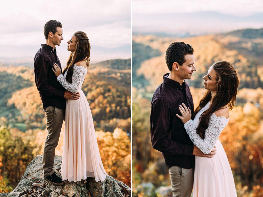 Roanoke Mountain Engagement, Virginia Wedding Photographer