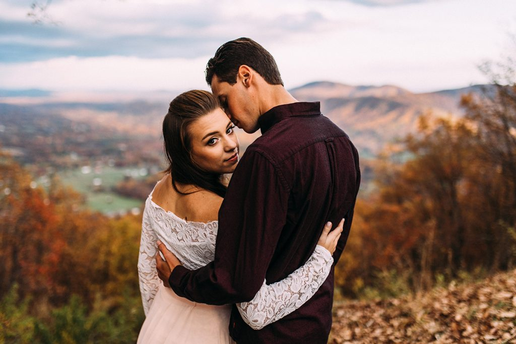 Roanoke Mountain Engagement, Virginia Wedding Photographer