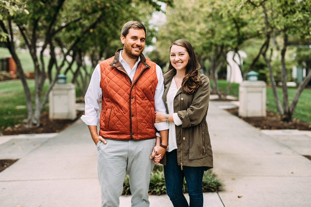 Elmwood Park Roanoke Engagement