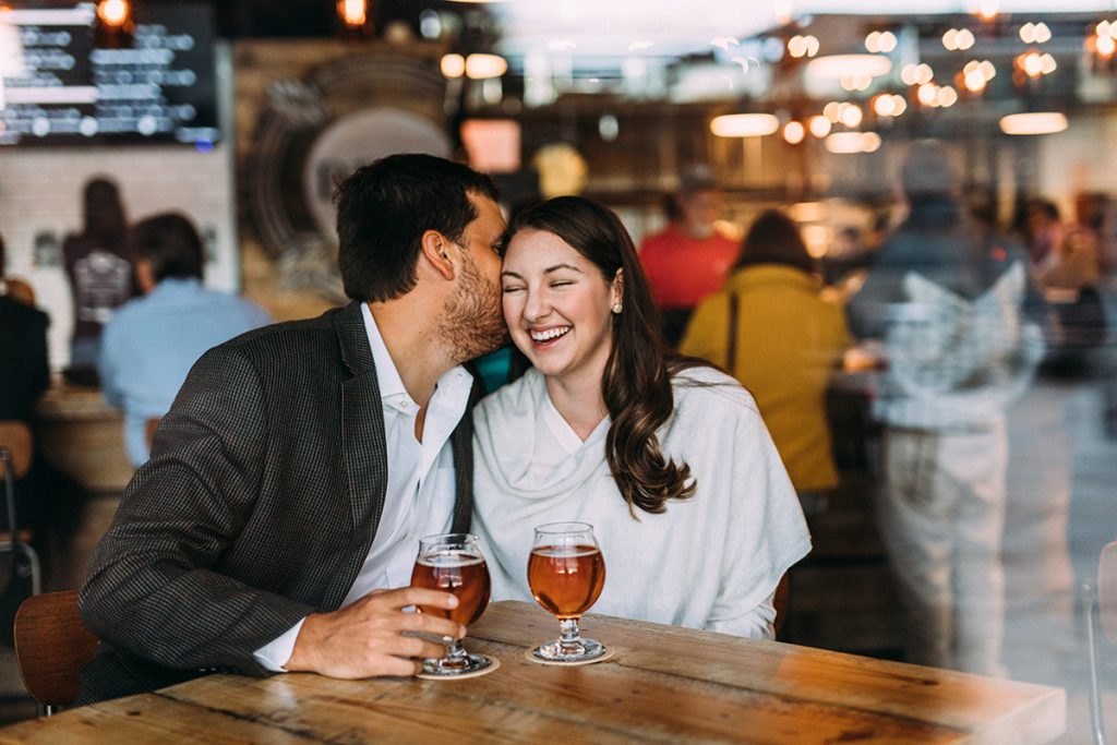 Big Lick Brewery Roanoke Engagement