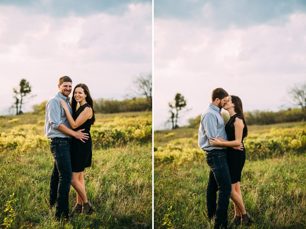 skyline drive big meadows engagement