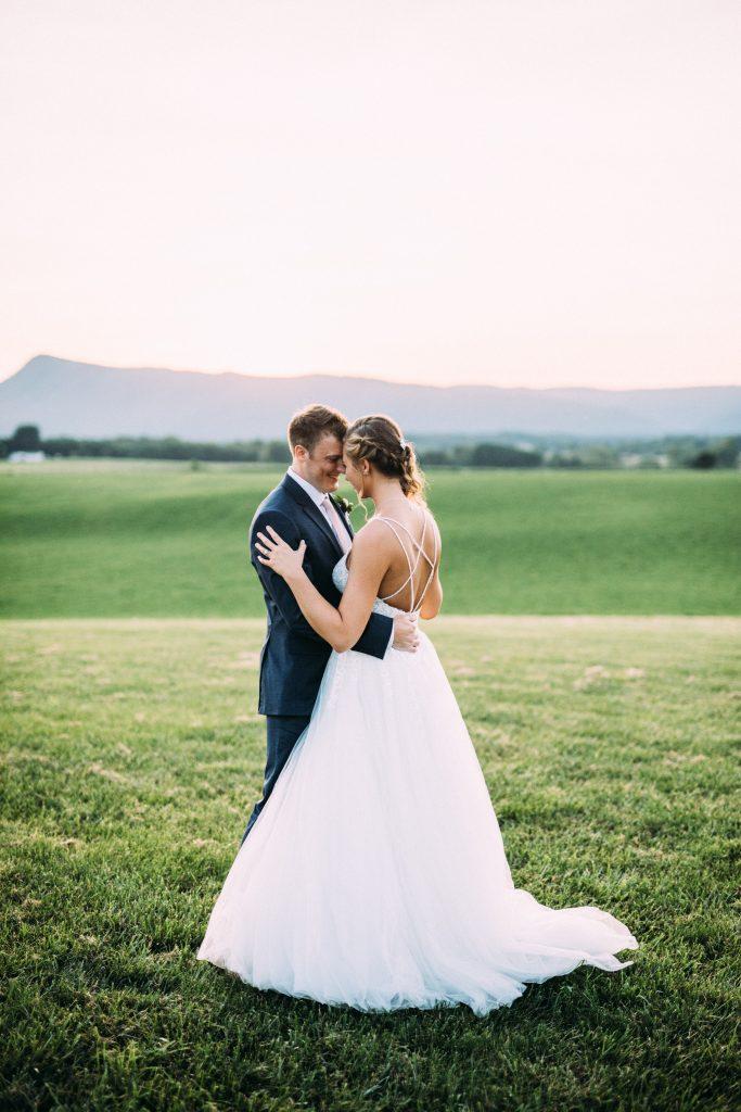 Columns at six penny farms wedding