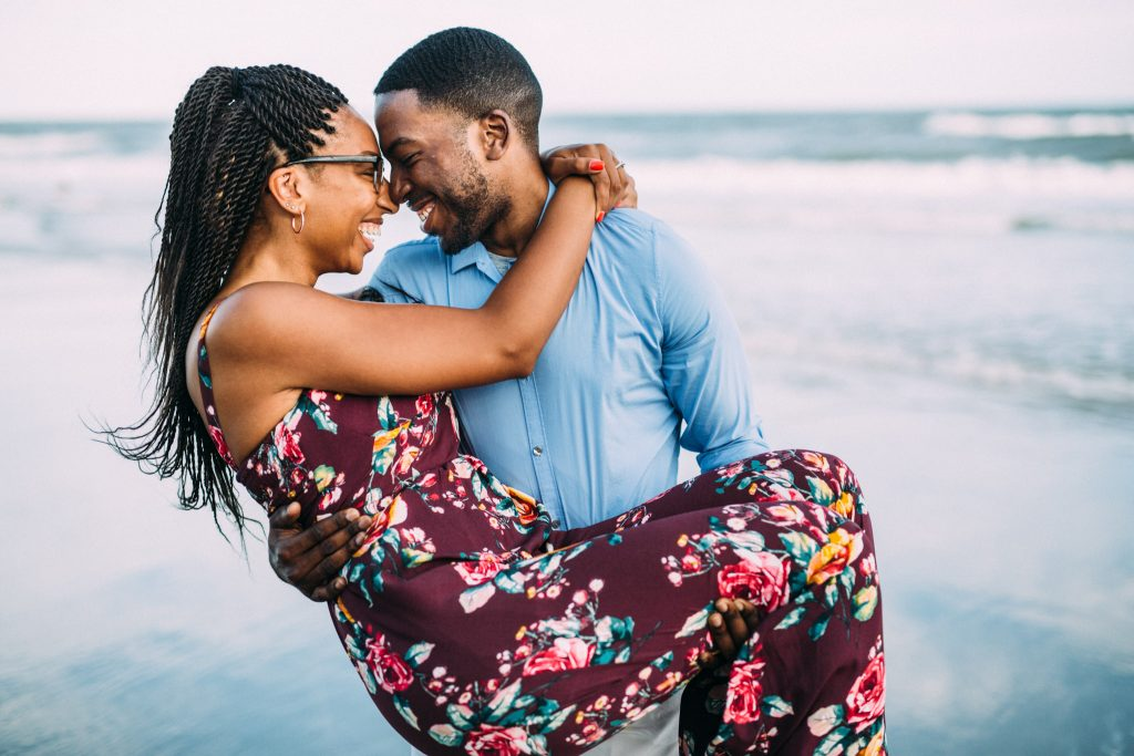 myrtle beach engagement session
