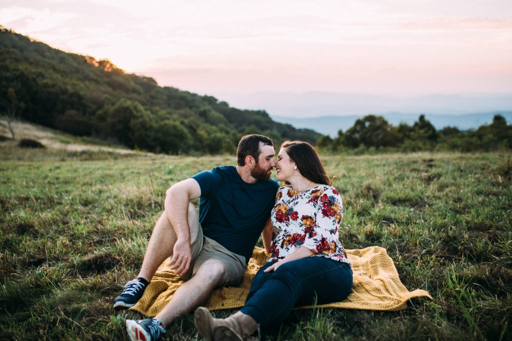 cole mountain engagament