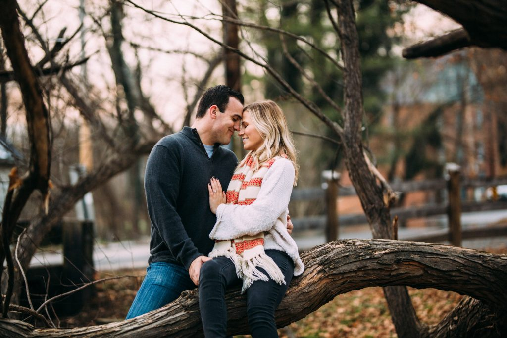 Waterford engagement session