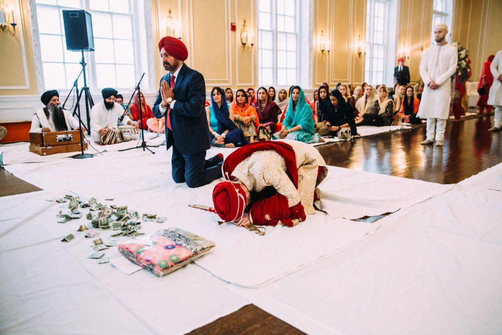 patrick henry ballroom sikh wedding