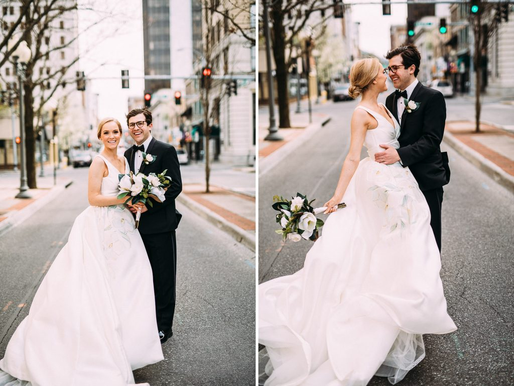 Downtown Roanoke Wedding