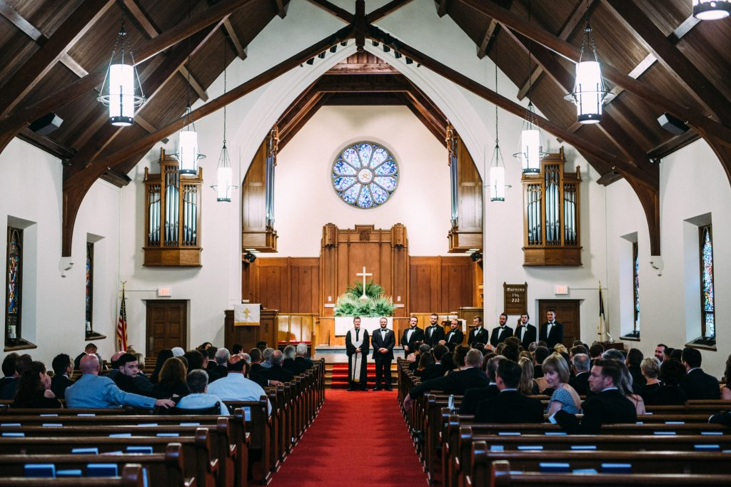 Second Presbyterian Church wedding