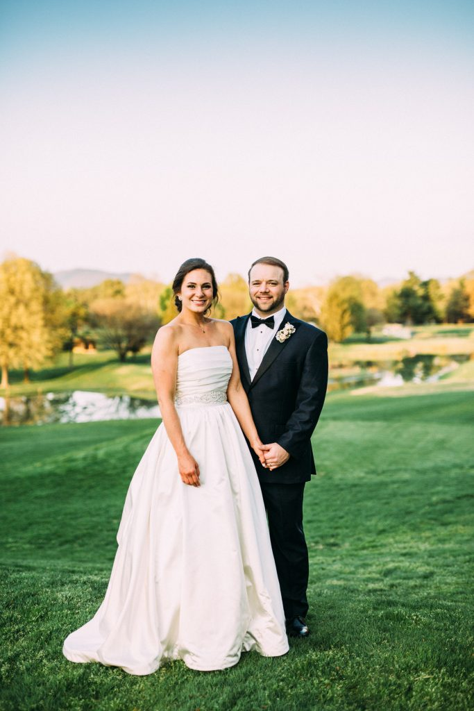 Roanoke country club wedding