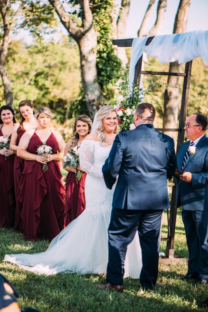 The Glen at glenburn farms wedding