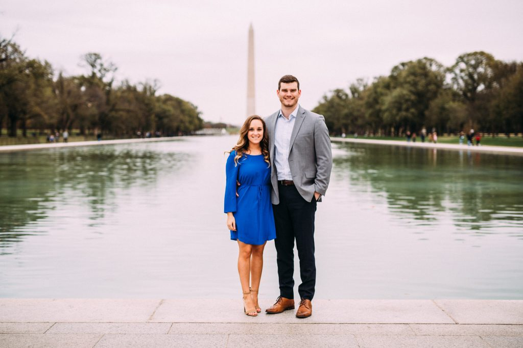 lincoln memorial engagement