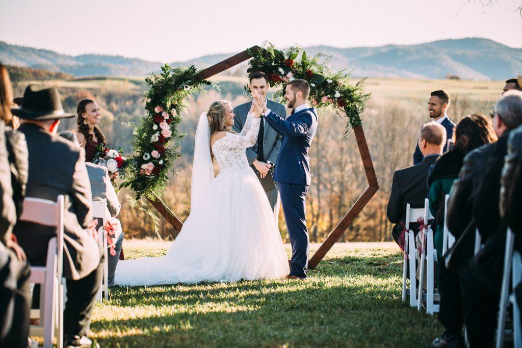 on the glen wedding