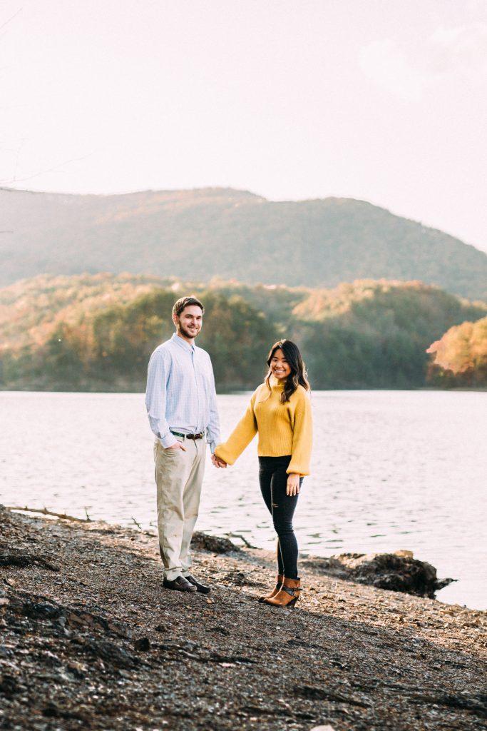 Carvins Cove Engagement