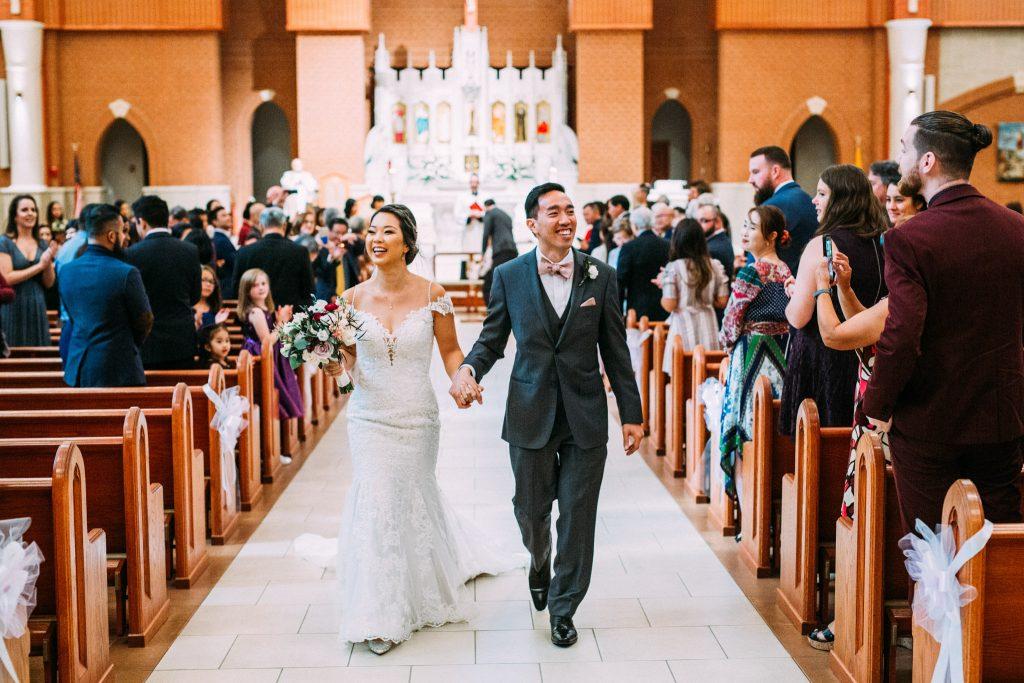 St Theresa Catholic Church wedding