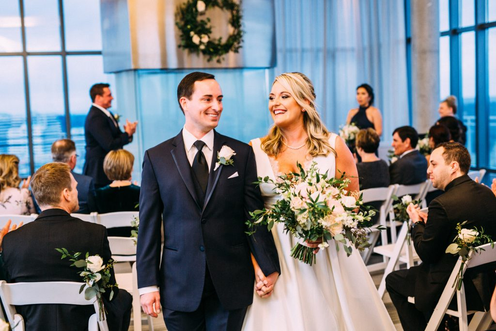 BLVD Reston Penthouse Wedding