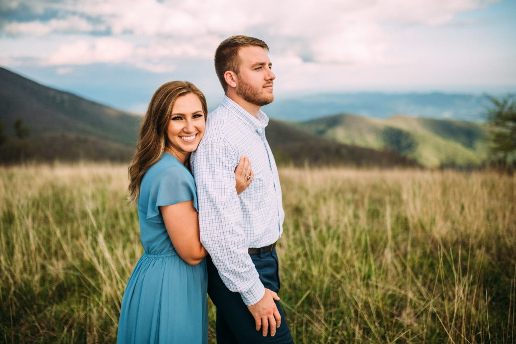 cole mountain engagement session
