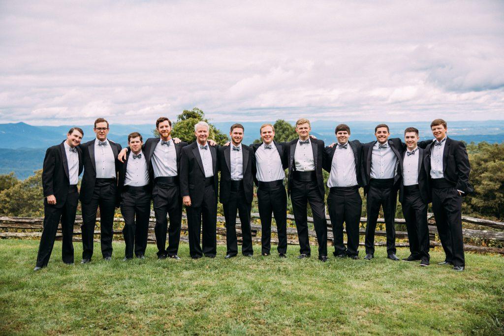 roaring gap club wedding