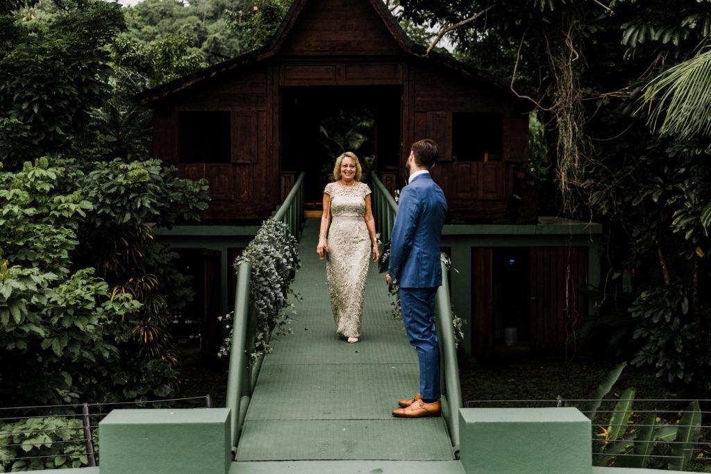 ocio helipad costa rica wedding